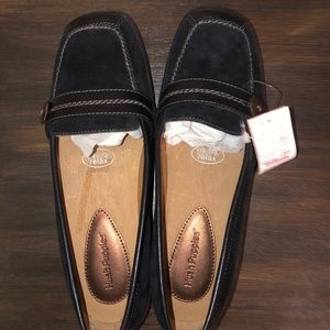 Hush Puppies Black Loafer Size 8